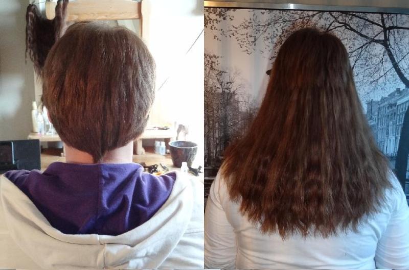 hairextensions kort haar
